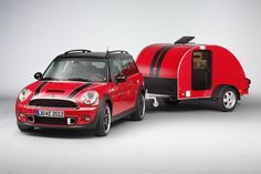 MINI Cooper Countryman camping. This is my dream vehicle, right here.