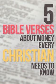 5 Bible verses about money we all should memorize
