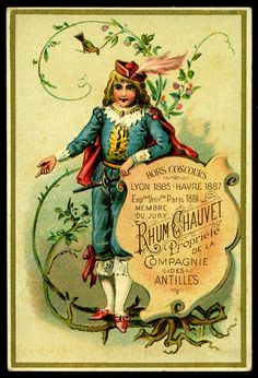 French Tradecard - Chauvet Rum by cigcardpix, via Flickr