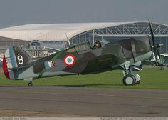 Curtiss P-36 Hawk en France en 1940