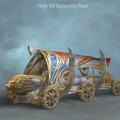 High Elf Ram by Sven Bybee on ArtStation.