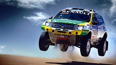 Christmas has come early: two V8-powered Dusters will contest the 2015 Dakar rally