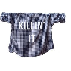 Killin' It Punk, Angsty, Funny, Humor Unisex Shirt, Font Printed... ($28) ❤ liked on Polyvore featuring tops, punk shirt, flannel shirts, shirts & tops, flannel tops and print shirts