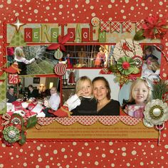 Christmas days - Scrapbook.com