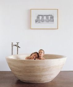 A luxurious decadent bath, this Stone Soaking Tub swirls around you with soft blended colours. It's a deep round tub that provides amble space to relax, without feeling closed...