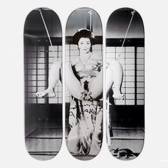 Skate deck shared by jerryspunk #skateboard #blackandwhite