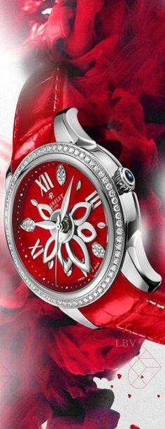 Perrelet  ♥✤ Diamond Flower Watch | LBV