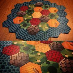 Custom Catan tiles