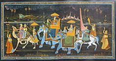 King and 8 Ministries in Vedic Period History Of India, Victorian, King, Queen, Paper, Elephants, Painting, Image, Period