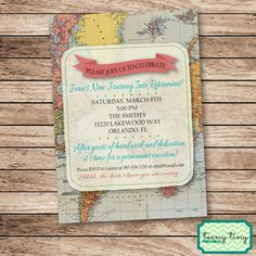 Permanent Vacation Retirement Party by TeenyTinyPrintables on Etsy. Like us on Facebook for exclusive fan discounts! www.facebook.com/teenytinyprintables