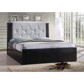 Platform Bed, black and white - $364.95