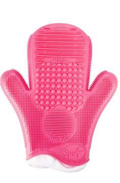 Le gant Sigma pour laver ses pinceaux à maquillage