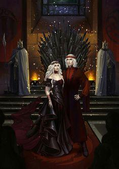 CM: Praise the Dragons! by EllirhShaan on DeviantArt Casa Targaryen, Daenerys Targaryen, Khaleesi, Game Of Thrones Books, Game Of Thrones Funny, Arya Stark, Fantasy World, Fantasy Art, Rhaegar And Lyanna
