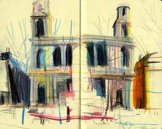 Sketschbook, Yann Kebbi