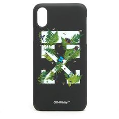 OFF-WHITE 'Ferns' I-Phone 8 Case ($60) ❤ liked on Polyvore featuring accessories and tech accessories