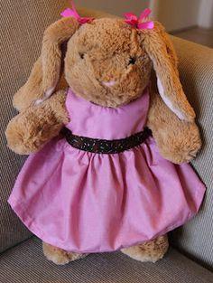 Build-a-Bear dress tutorial | Cute Tutes by Jaci Hayden