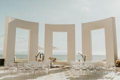 Wedding ceremony at the Gazebo Terrace.  Photos by Anna's Photography Tx.
