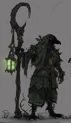 Dungeons & Dragons: Kenku (inspirational) - Imgur