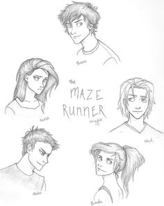 The Maze Runner  characters- how I pictured them exactly!