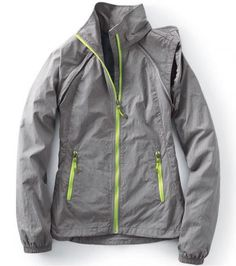 FOR TRAVELING: Lands' End Women's Activewear Convertible Jacket