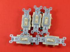 Pass & Seymour 1-Switch 15-Amp Single Pole Ivory  #PassSeymour