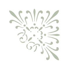 Use this Amiens French Heritage Corner Accent Stencil to paint your own patterns all over you wall or floor. Perfect for hallways, bathrooms, livingrooms and more!