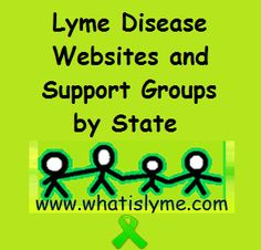 Websites and Support Groups by State | What is Lyme Disease?