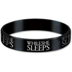 While She Sleeps Logo Gummy Wrist Band