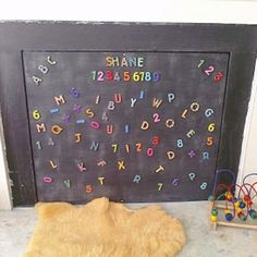 Great kid-proof fix for a fireplace