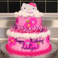Super cute HK 2 tier cake!