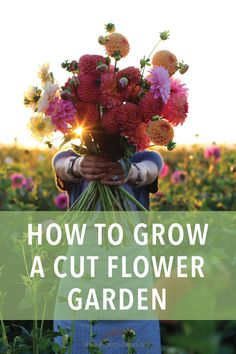 Join Erin Benzakein founder of Floret and author of the award-winning book Floret Farm s Cut Flower Garden for a series of free video tutorials to learn key skills to grow your own abundant cutting garden or small-scale flower business # Cut Flower Garden, Flower Garden Design, Beautiful Flowers Garden, Beautiful Gardens, Flower Gardening, Small Flower Gardens, Fairy Gardening, Garden Pests, Gardening For Beginners
