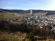 View over Willingen! Wintersport holliday.., without snow :-(