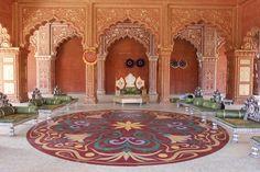 Deewaane Khaas in Akbar's palace #JodhaAkbar