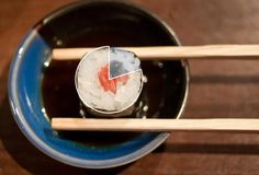 Sushi with chopsticks-why do the people of Okinawa live so long?