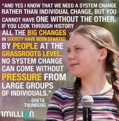Thank you Greta, for reminding us that no one is too small to make a difference. Will you be standing with Greta at the Global Climate Strikes on Save Our Earth, Save The Planet, Actions Speak Louder, Our Planet Earth, Make A Difference, Global Warming, Climate Change, Planets, At Least