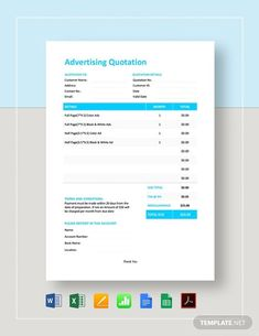 FREE Sample Quotation Template - PDF | Word (DOC) | Excel | Apple (MAC) Pages | Apple Numbers | Template.net Quotation Sample, Quotation Format, Yearbook Pages, Yearbook Layouts, Yearbook Spreads, Sales Template, Layout Template, Dashboard Template, Brochure Template