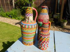 Wire Covered Hungarian Bottle, £15.00
