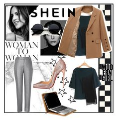 """""""Bez naslova #1"""" by indira8-1 ❤ liked on Polyvore featuring Christian Louboutin, Avery, Gabriella and Setton Brothers"""