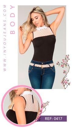 Un body in you jeans se encarga de resaltar la figura y hacerte ver sofisticada. Body, Capri Pants, Fashion, Athletic Wear, Feminine Fashion, Women, Moda, Capri Trousers, Fashion Styles
