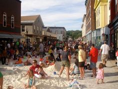pop up beach - Imagining North Adams - North Adams, Massachussetts, USA