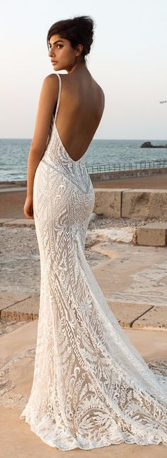 Wedding Gown Wedding Dress - GALA Collection NO. III by Galia Lahav - Boho brides, rejoice and get ready for some impossibly beautiful wedding dresses! GALA by Galia Lahav bridal Collection has it all! Lace Beach Wedding Dress, Dream Wedding Dresses, Bridal Dresses, Lace Dress, Gown Wedding, Wedding Reception, Wedding Outfits, Budget Wedding, Boohoo Wedding Dress