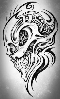 Skull Art X1 by KingsArt-1.deviantart.com on @deviantART