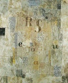 Paul Klee - The Costume of the Singer Rosa Silber 1922 Reproduction Oil Painting