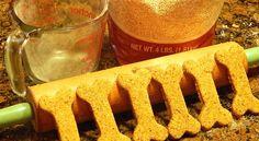 Quinoa Peanut Butter Dog Treats