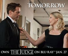 Experience one of the most heartwarming movies of the year starring Robert Downey Jr and Robert Duvall with your Blu-ray™ copy of The Judge tomorrow! Robert Duvall, Robert Downey Jr, Vera Farmiga, Picture Photo, Pictures, Photos, Movies, Iron Man, Spider