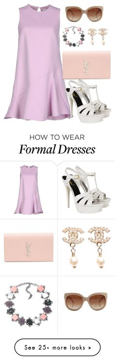 """Spring Formal"" by acacia97 on Polyvore featuring Christian Dior, Yves Saint Laurent, STELLA McCARTNEY and Chanel"