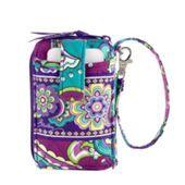 Vera Bradley wristlet wallet really want! Birthday Christmas!!! ❤️ Pattern Heather, $30