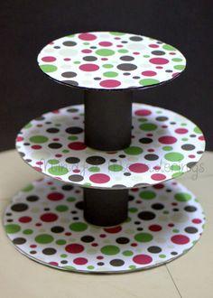 DIY 3 Tier - Cupcake stand