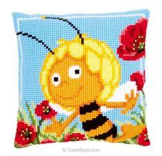 9,4 cm-perchas imagen-Patch aplicación niños//D Parchear abeja maya 7 cm