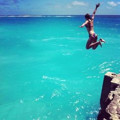 Cliff jumps! Fun adventure. It's time for me to LIVE!